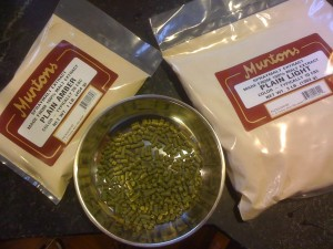 Malt Extract and Bittering Hops